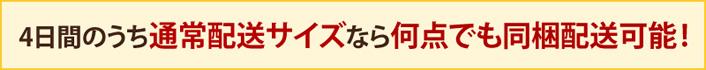 送料380円&4日間なら何点でも同梱配送可能!